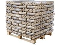DŘEVĚNÉ BRIKETY TURBO - paleta 1000kg