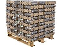 DŘEVĚNÉ BRIKETY ENERGO HARD - paleta 1000kg