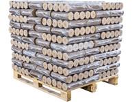 DŘEVĚNÉ BRIKETY ENERGO HARD TOP - paleta 1000kg