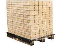 DŘEVĚNÉ BRIKETY RUF - paleta 960kg