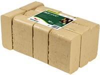 DŘEVĚNÉ BRIKETY RUF HARD - balík 10kg