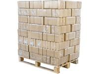 DŘEVĚNÉ BRIKETY RUF HARD - paleta 960kg